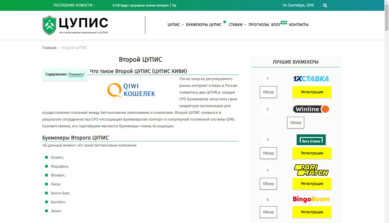 лицензированные букмекерские конторы России